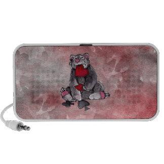 Bear Joker Notebook Speaker