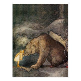 Bear Kiss Post Cards