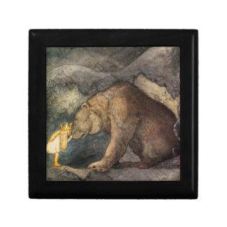 Bear Kiss Small Square Gift Box