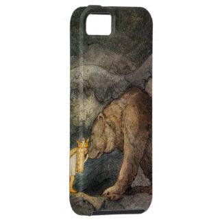 Bear Kiss Tough iPhone 5 Case