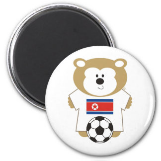 BEAR KOREA DPR 6 CM ROUND MAGNET