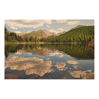 Bear Lake. Colorado. Wood Wall Art