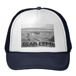 Bear Left Trucker Hat