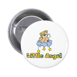 Bear Little Angel Tshirts and Gifts 6 Cm Round Badge