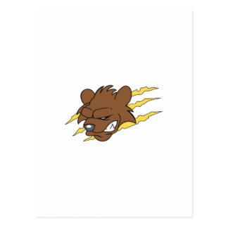BEAR MASCOT POSTCARD