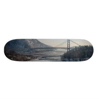 Bear Mountain Bridge Custom Skateboard