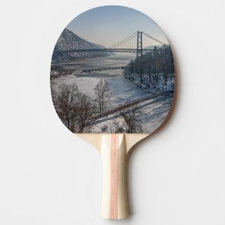 Bear Mountain Bridge Ping Pong Paddle