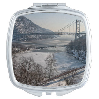 Bear Mountain Bridge Travel Mirror