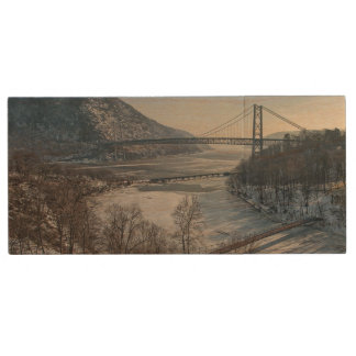 Bear Mountain Bridge Wood USB Flash Drive