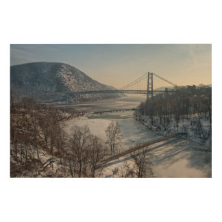 Bear Mountain Bridge Wood Wall Decor
