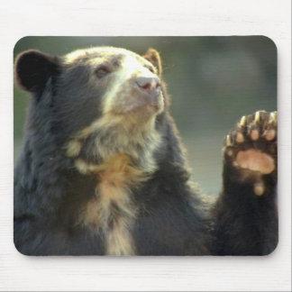 bear mouse mat