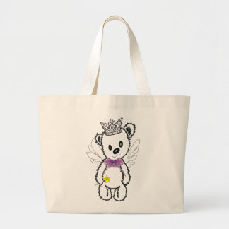 Bear my dear fairy-wizard Jumbo Tote Jumbo Tote Bag