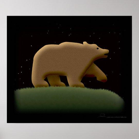 Bear Night Poster