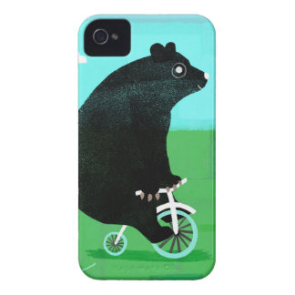 Bear On A Bicycle Case-Mate iPhone 4 Case