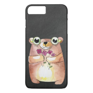 bear on chalkboard iPhone 8 plus/7 plus case