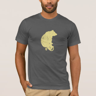 Bear on Tricycle (Yellow) T-Shirt