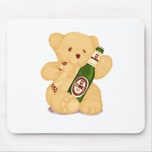 Bear or Beer? Mousepads