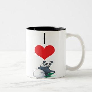 bear panda mug