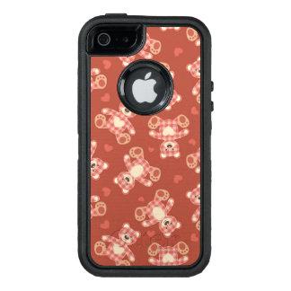 bear patchwork pattern OtterBox iPhone 5/5s/SE case