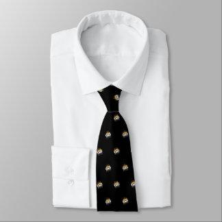 Bear Paw (black) Tie