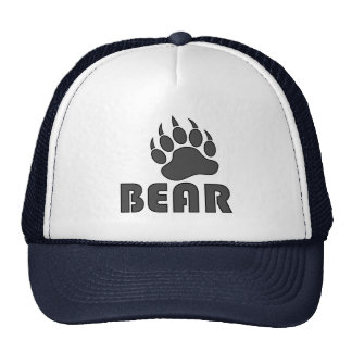 Bear Paw Gay Bear Cap