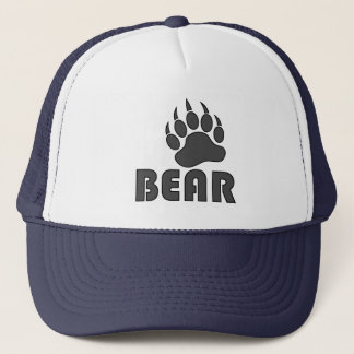Bear Paw Gay Bear Trucker Hat