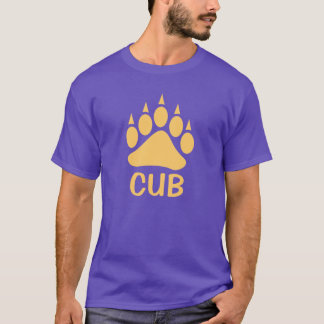 Bear Paw Impress Cub (Peach) T-Shirt