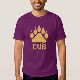 Bear Paw Impress Cub (Peach) Tshirts