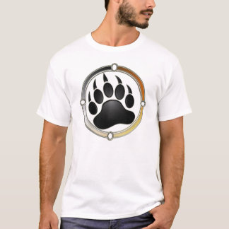 Bear Paw In Pride Circle T-Shirt