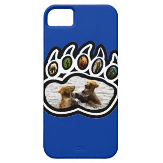 Bear Paw iPhone 5 Case