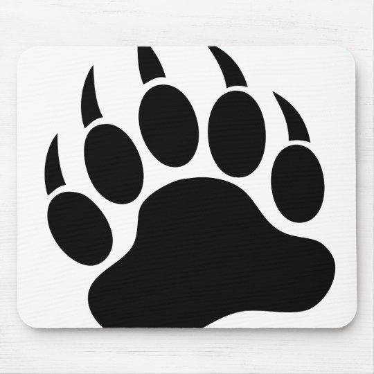 Bear Paw Mouse Pad