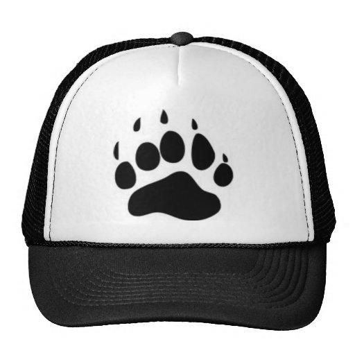 Bear Paw Print Hats