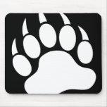 Bear Paw (reverse) Mousepad