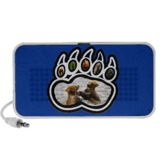 Bear Paw Mini Speakers