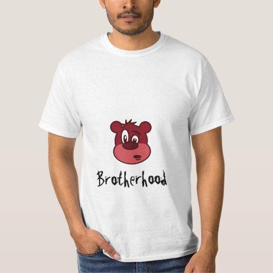 bear_peterm_01, Brotherhood T-Shirt