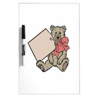 Bear Present Dry Erase Whiteboards