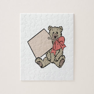Bear Present Jigsaw Puzzle
