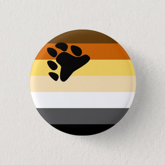 Bear Pride Flag button