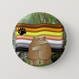 Bear Pride in the Woods 6 Cm Round Badge
