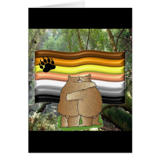Bear Pride in the Woods Card