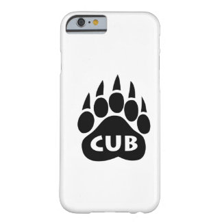 "Bear Pride Paw ""Cub"" iPhone 6 case Barely There iPhone 6 Case"