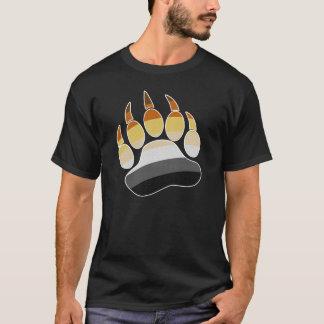 Bear Pride Paw Print T-Shirt