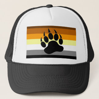 Bear Pride Paw Trucker Hat