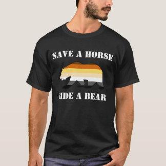 Bear Pride Save A Horse Ride A Bear T-Shirt