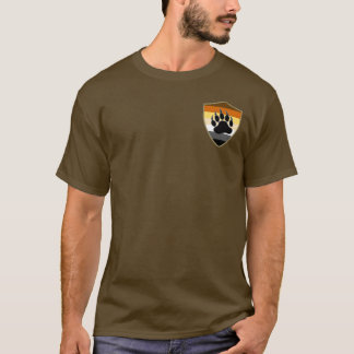 Bear Pride Shield Bear Paw - Shirt