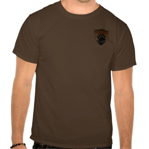 Bear Pride Shield Bear Paw - Shirt