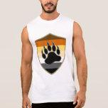 Bear Pride Shield Bear Paw - SLEEVELESS SHIRT