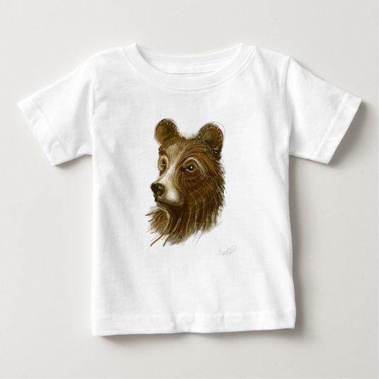 Bear Print Baby Tee