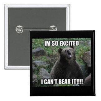 Bear Pun Button