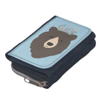 Bear purse wallets